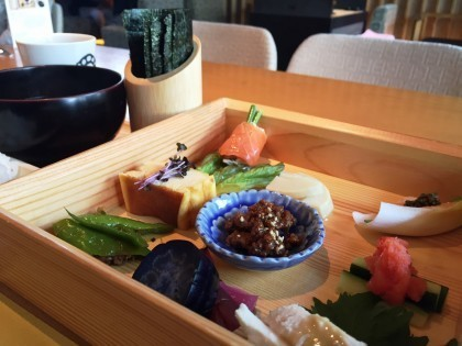 和カフェの手巻き寿司ランチに目から鱗!オシャレ、簡単、安いから真似することにした。